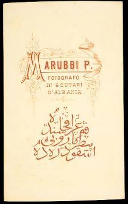 Dok-foto e pasaportes turke të P. Marubit