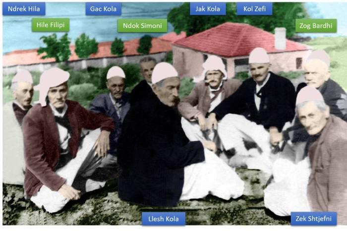 Alban Marku foto e restauruar e pleqve të Kodhelit