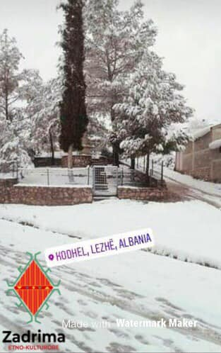 borë në kodhel