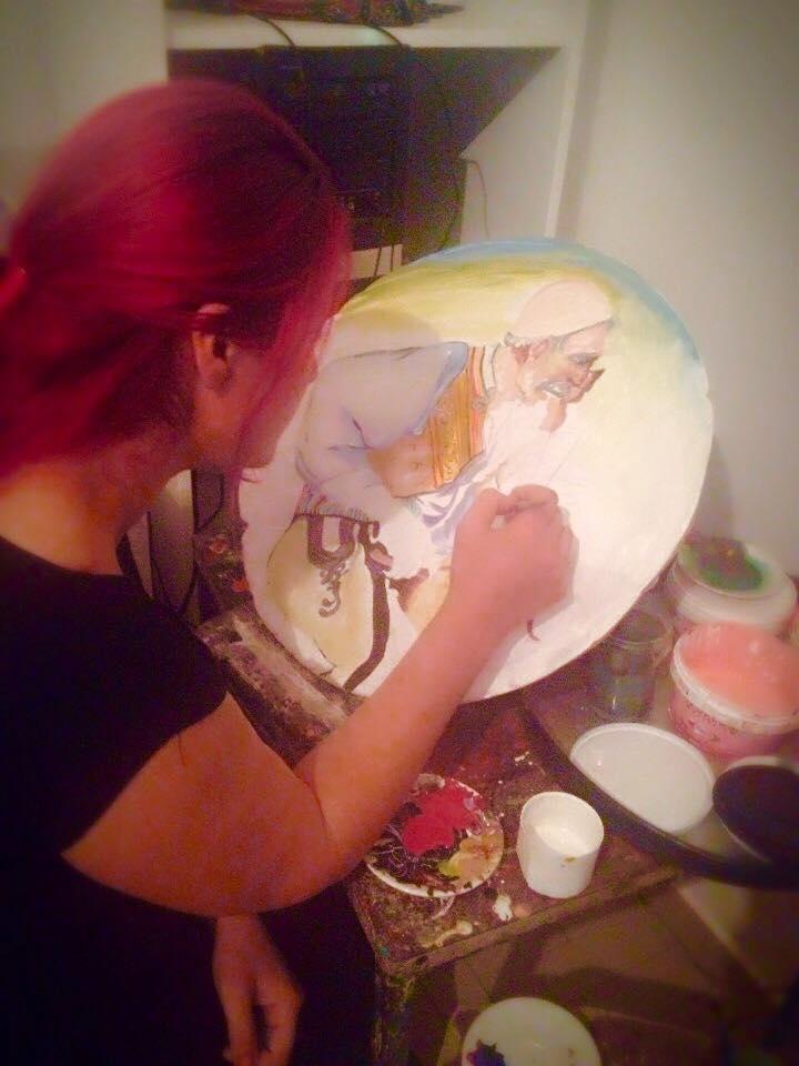 Jana pikturë në qeramikë