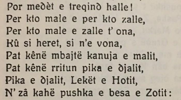 a-gjergj fishta -lahuta e malcisë