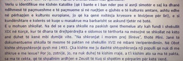 Danieli- gjuha shqipe
