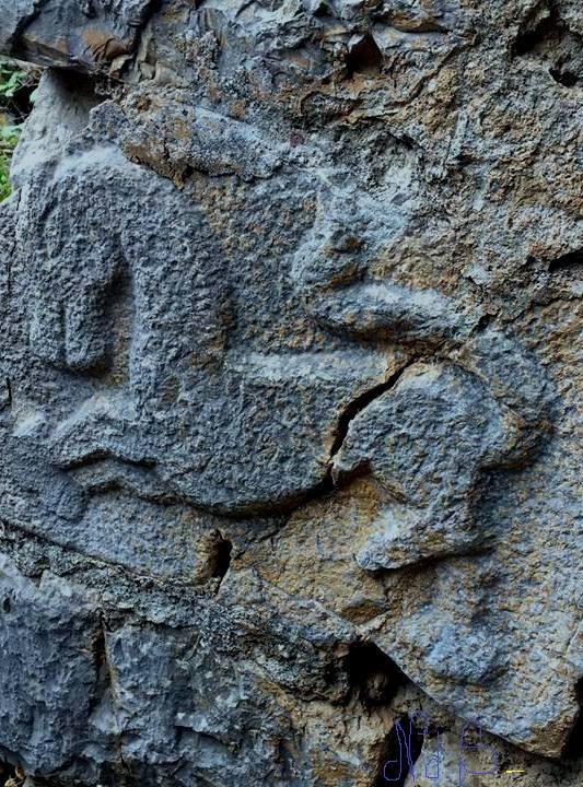 Gdhendje guri-motive të vjetra