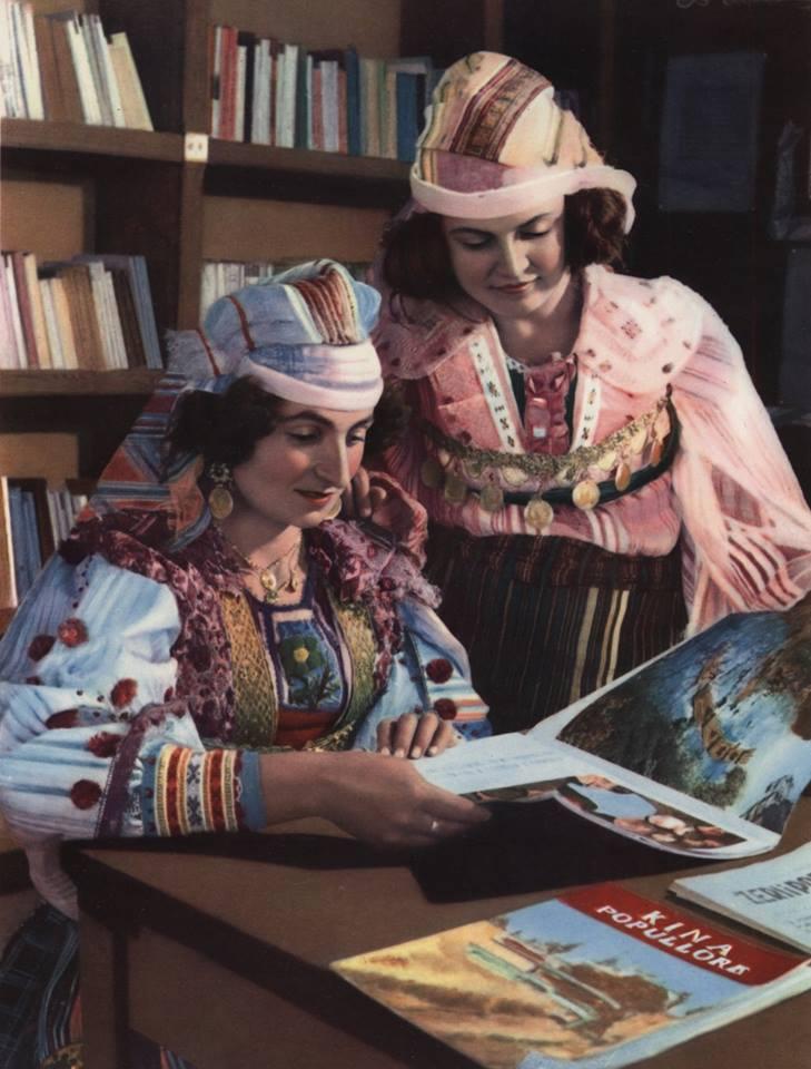 Gra zadrimore në revistat kineza(nga Plezha dhe nga Bushati) 1968
