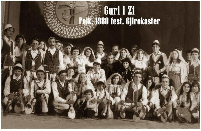 Grupi artistik Guri i Zi 1980