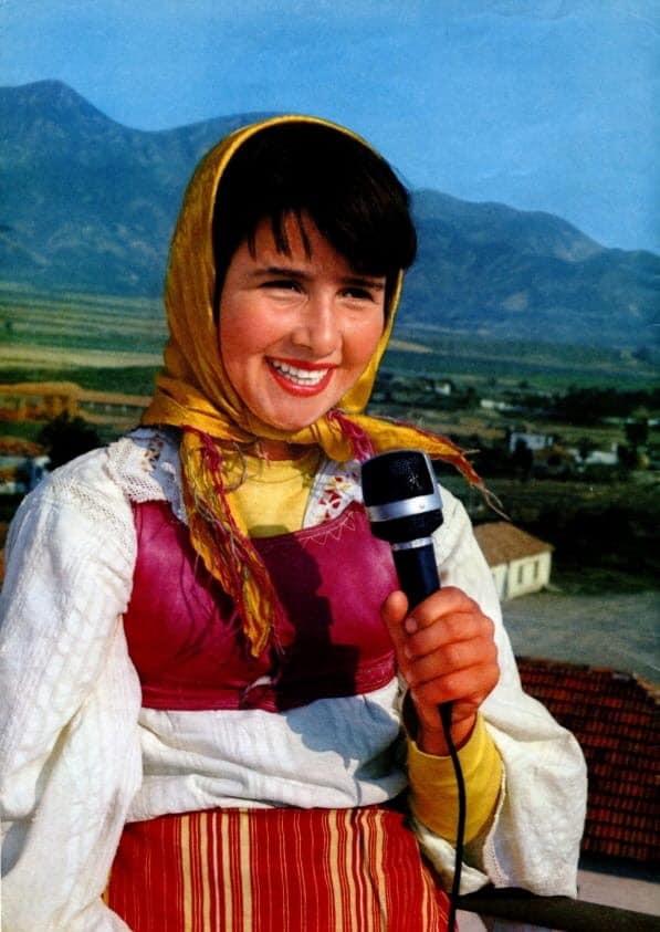 Këngëtare amatore nga Blinishti 1970