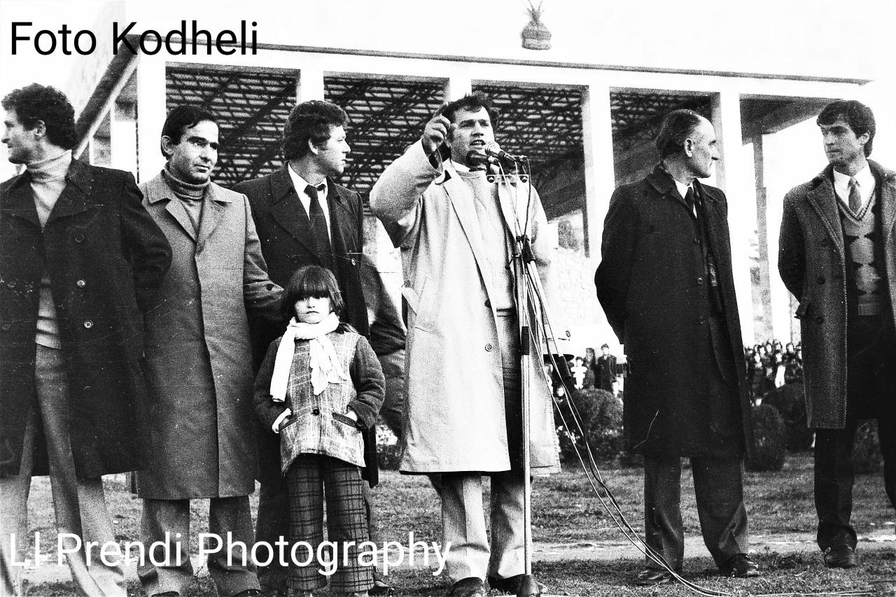 Ll. Prendi- Azem Hajdari në Lezhë 12 janar 1991