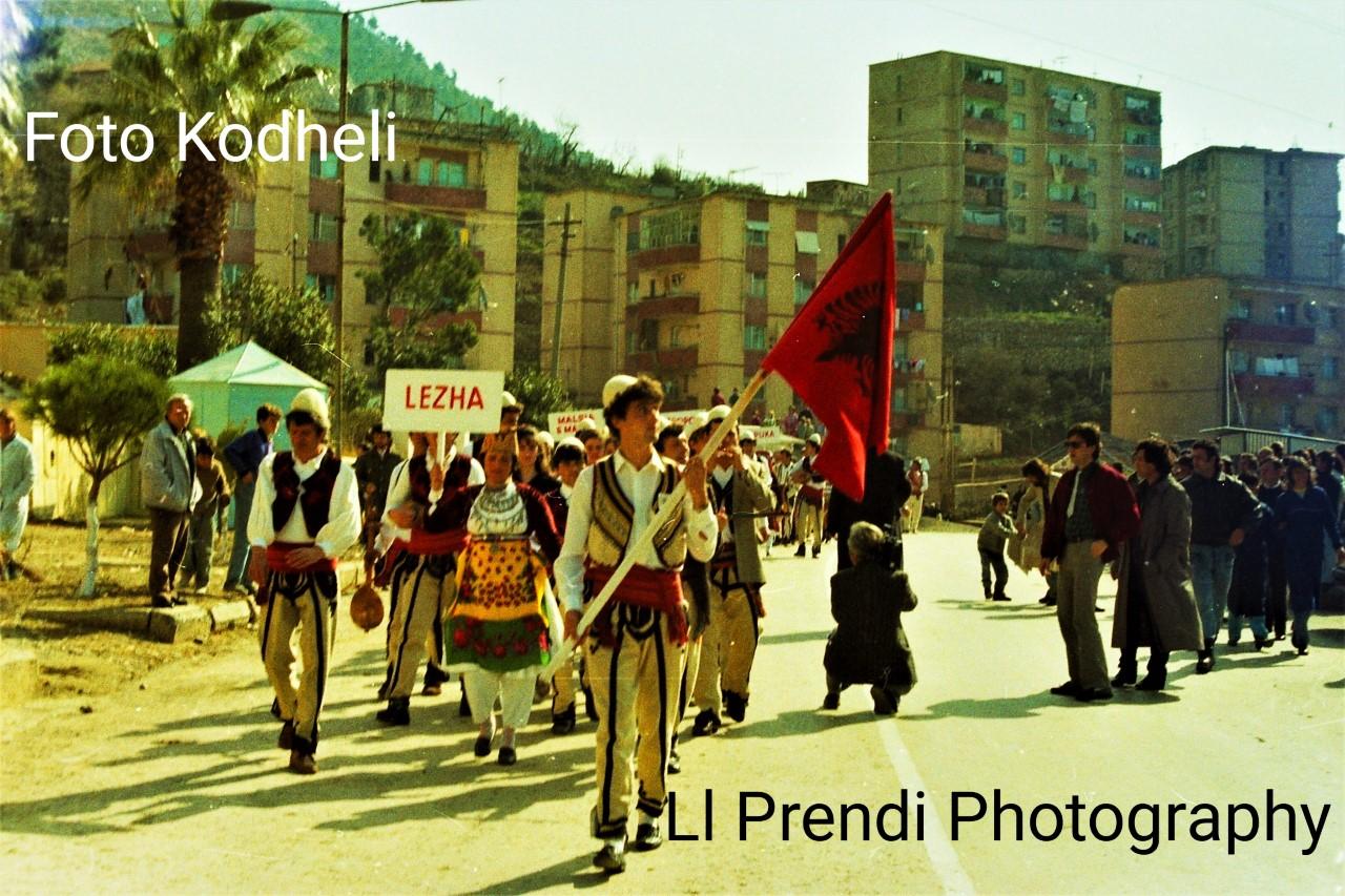 Ll. Prendi-Ditë festive në Lezhë